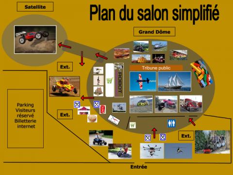 6 me salon du modelisme maquettisme drones robotique - Salon du taf perpignan ...