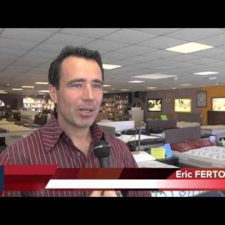 Eric FERTON - Maison de la literie / Foire exposition de Perpignan 2014