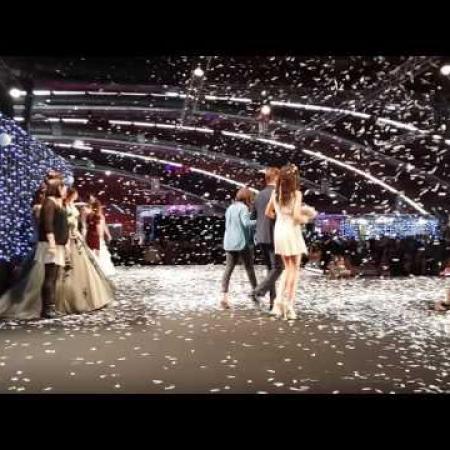 Final du défilé du salon du Mariage 2016