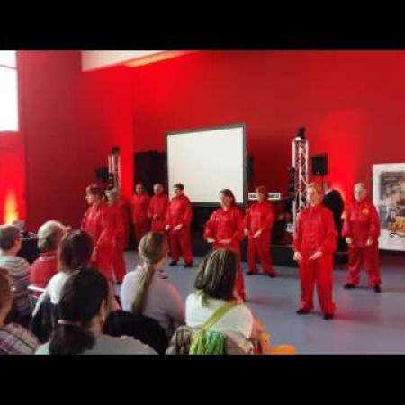 Démonstration de Qi Gong au salon Séniors...mais pas trop 2017 à Perpignan